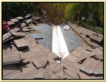 Dove Canyon Tile Roof Leak Repair