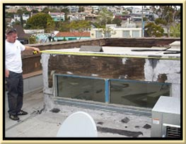 experienced roofing inspector